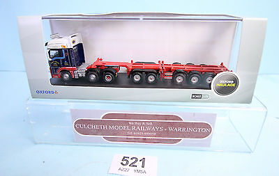 OXFORD DIECAST 'OO 1/76' MAN01CT MAN TGX COMBI TRAILER LORRY NEW/BOXED #521