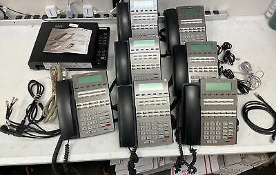 Nec Dsx 40 System Package Ksu 4x8x2 With 7 Dsx 22b Phones Free Shipping