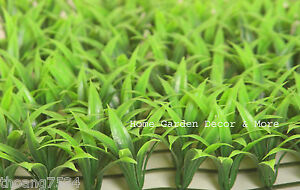 Aquarium Plastic Fish Tank Decor Floral Water Green Grass Plant SAFE FOR FISH