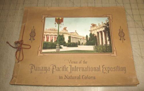 1915 Views of the PANAMA-PACIFIC INTERNATIONAL EXPOSITION Portfolio - COMPLETE!