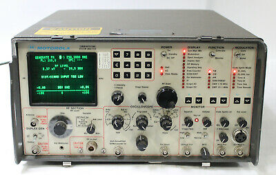 Motorola R2014d 0900hs Communications System Analyzer Service Monitor