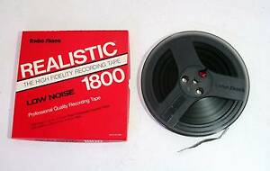 Radio Shack Realistic 1800ft Pre-Recorded Reel to Reel Tape Melville Melville Area Preview