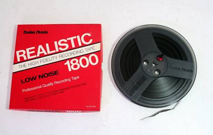 Radio Shack Realistic 1800ft Pre-Recorded Reel to Reel Tape