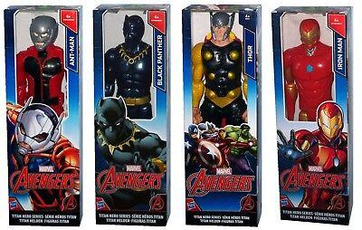 Hasbro Avengers Titan Hero Series Figur Iron Man / Black Panther / Ant-Man