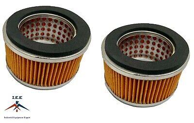 2 Pack New Puma Air Compressor Intake Filters 2142002