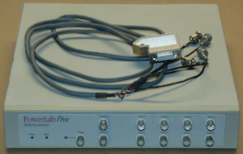 ADInstruments PowerLab 8SP 8 Channel Data Acquisition System