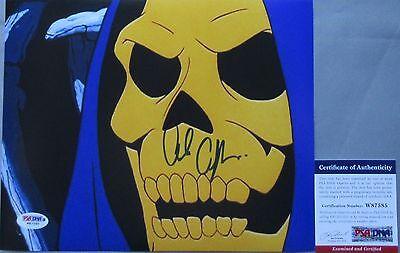 Classic    Alan Oppenheimer Skeletor Signed He Man 8X10 Photo  2 Psa Dna