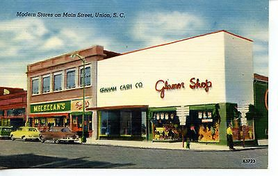 Main Street Stores-Glamor Shop-McClellan's-Union-South Carolina-Vintage (Union Street Stores)