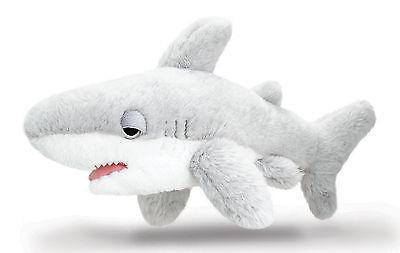 Plüschtier Weißer Hai Kuscheltier Keel Toys, Stofftier Plüsch Fisch grau ca.35cm