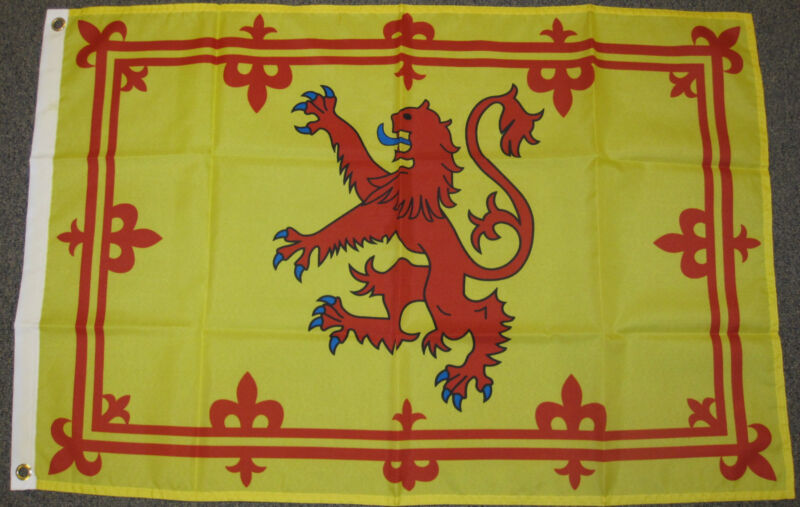 2X3 SCOTLAND FLAG SCOTTISH RAMPANT LION NEW 2