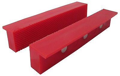 Ion Tool Universal Soft Vise Jaws Rubber Jaws 6 Red