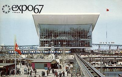 Canada  -  Montreal - EXPO 67 - Pavilion of Soviet Union - 50 years of progress
