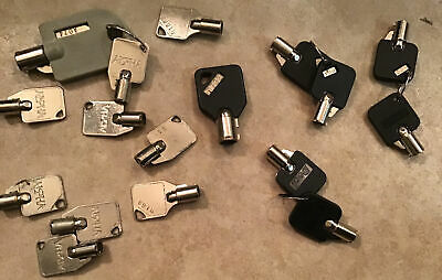 Vending Machine Plug Locks Keyed Multiple Brands See Pictures 17 Total