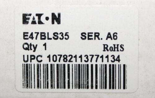 EATON CUTLER HAMMER E47BLS35 Roller Lever Plunger Action Limit Switch