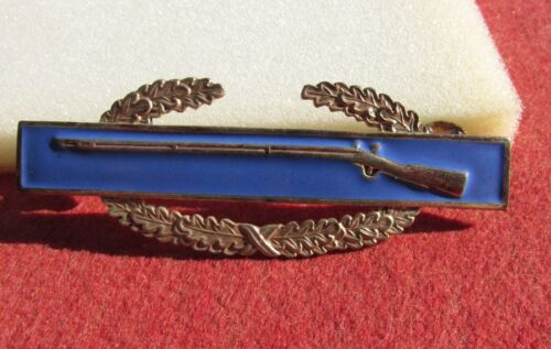 "Japanese Made Combat Infantry Badge ""N.B.I. Co. Japan"" CIB enameled rare beauty"
