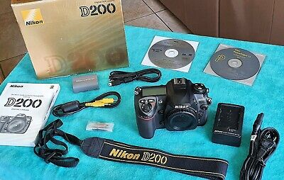 Nikon D200 10.2 MP Digital SLR Camera (Body Only) - IN PERFECT WORKING ORDER