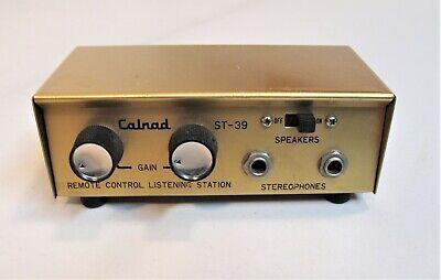 CALRAD VINTAGE STEREO HEADPHONE JUNCTION BOX - ST-39