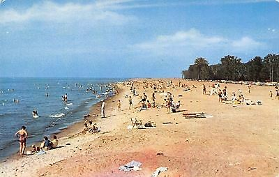 Erie Pennsylvania~Peninsula State Park~Restoration Beach~Postcard ()