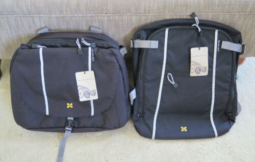 x2 LOT  Burley Travoy Bags Upper AND Lower Transit Bags NEW w/Tags