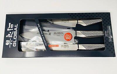 Global 3-pc Knife Set (G2111), NIB