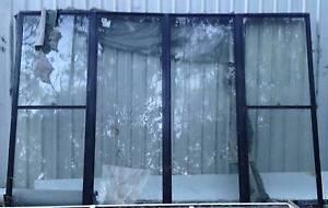 2 New HUGE Aluminium Windows, Black 3560x2420 and White 3250x1520 Tamborine Ipswich South Preview