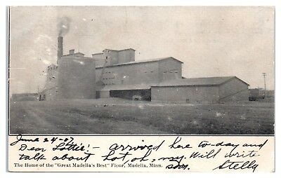 1907 Christensen Mill, Home of Great Madelia's Best Flour, Madelia, MN (Best Home Flour Mills)