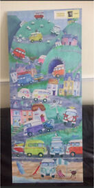 New & Sealed VW Campervan canvas picture