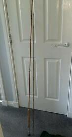 Spliced cane fly rod
