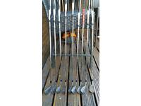 Taylormade 200 series irons 4-sw with attack wedge