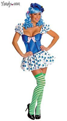 Adult Sexy Strawberry Shortcake Blueberry Muffin Costume