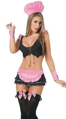 Sexy stripper costumes Dance wear Halloween Night club Pit Crew Chef School - Dance Crew Kostüm