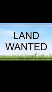 Wanted: Land wanted