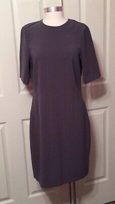 H&M Womens Gray Backless Dress NWT Size 12