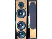 Mordaunt-Short MS207 floor speakers