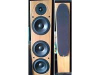 Mordaunt-Short MS207 floor speakers