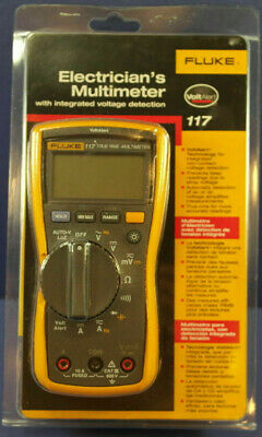 Fluke 117 Electricians Multimeter With Non-contact  New In Box  Msrp 235