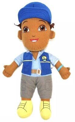 Go Diego Go Plush Doll Blue Vest Hat Safari Rescue 13