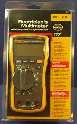 Fluke 117 Electricians Digital Multimeter  New In Box  Msrp 215