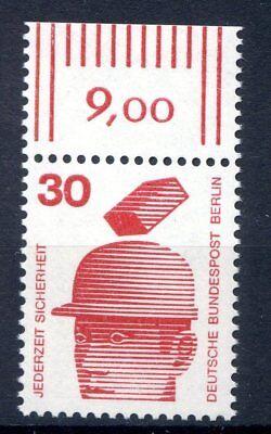 BERLIN MI NR 406 EINZELM OR 30 UNFALLVERH TUNG I POSTFISCH 1971