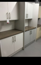 Kitchen bedroom utility room cabinets PLEASE READ