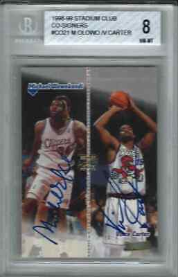 1998-99 Vince Carter Michael Olowokandi Stadium Club CO-