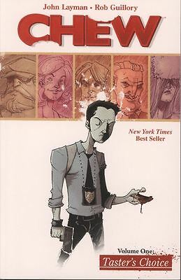 Chew Tpb Vol 1 Tasters Choice Reps  1 5 Mint Unread