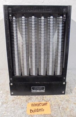 Chromalox Air Duct Heater Cabb-62 6 Kw 208 Volts 3 Phase Bottom Terminals