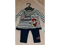 Mothercare minnie mouse outfit