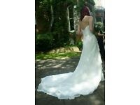 Maggie Sottero couture wedding dress size 10-12
