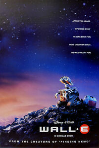 WALL-E MOVIE POSTER 2 Sided ORIGINAL Advance 27x40