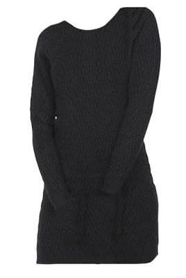 VERO MODA Damen Kleid Strickkleid schwarz Gr. M L XL 38 40 42 44 NEU - K33 ()