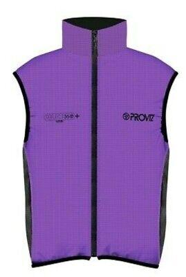 Proviz Reflect360 CRS Womens 100/% Reflective /& Waterproof Cycling Jacket Purple