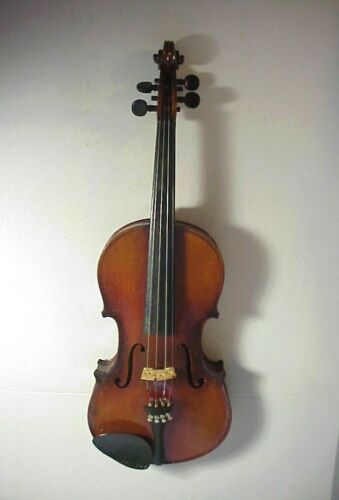 Antique GERMANY A+S ANTONIUS STRADIVARIUS Model VIOLIN Ready to Play #11