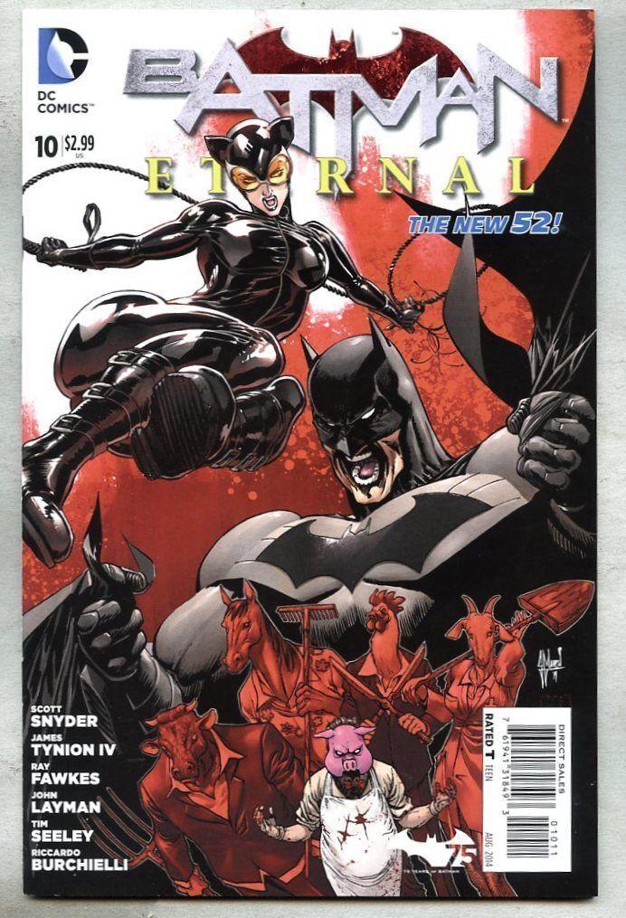 BATMAN ETERNAL #52 FINAL ISSUE SCOTT SNYDER DC COMIC BOOK NEW 1 2015